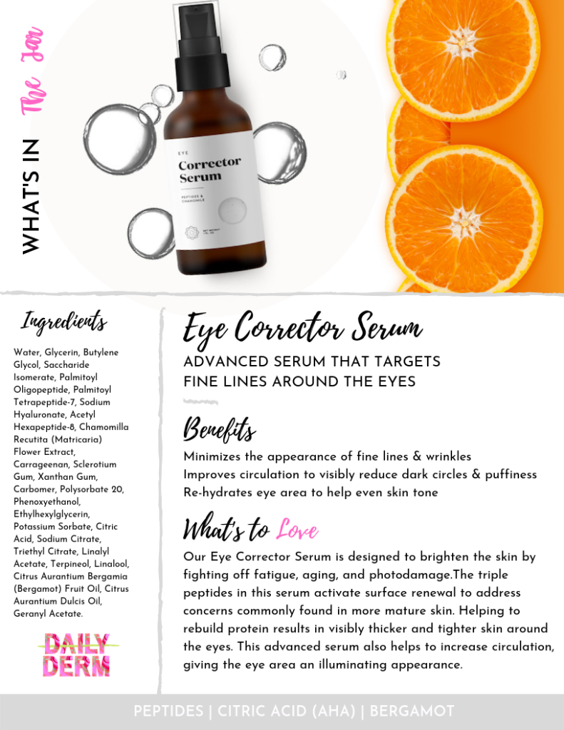 Eye Correcting Cream-Daily Derm